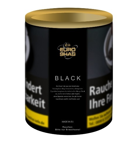 Euro Shag Black (Zware)