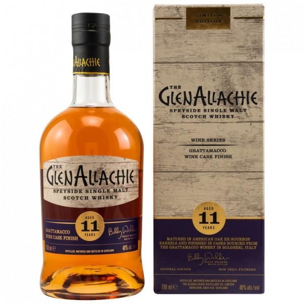 GLENALLACHIE Grattamacco Wine Cask Finish | 48% Vol.