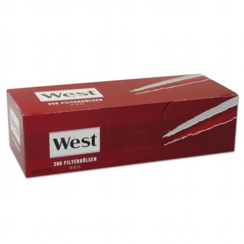 WEST Hülsen Red 200 Stück Packung | 5er Pack