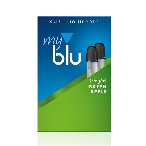 E-Liquidpod MY BLU Green Apple 2 Stück