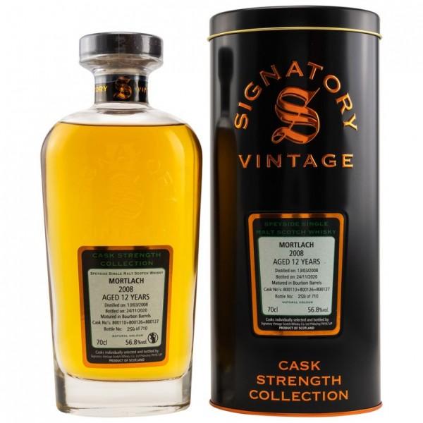 Mortlach 2008/2020 Signatory Vintage CS 56.8 % VOL.