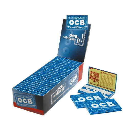 OCB blau Gummizug 25x100