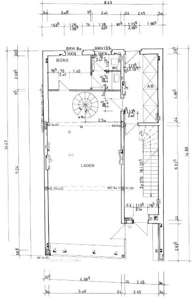 Vermietung Gewerberäume Erdgeschoss
