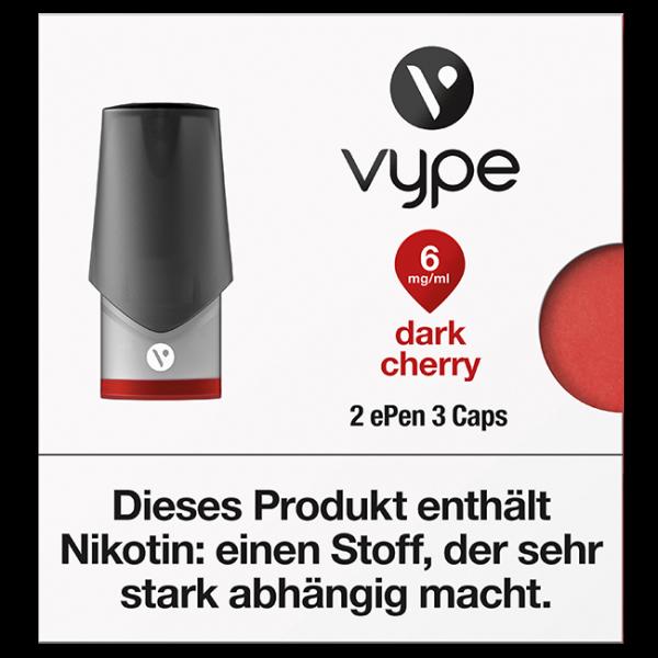 VYPE ePen3 Caps Dark Cherry | 2 Caps