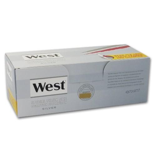 WEST Hülsen Special Silver 250 Stück | 4er Pack