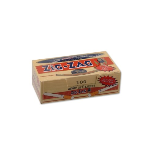 ZIG ZAG Mini Hülsen 100 Stück | 5er Pack