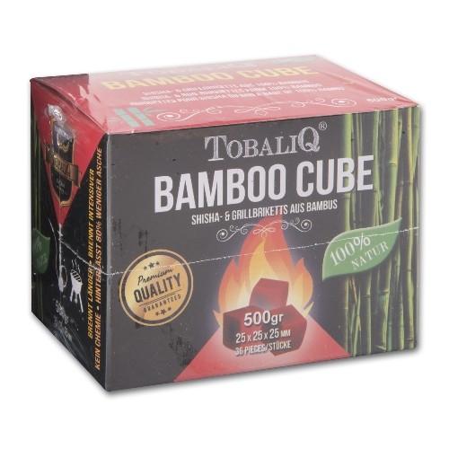 Wasserpfeifenkohle TOBALIQ Bamboo Cube 500 g