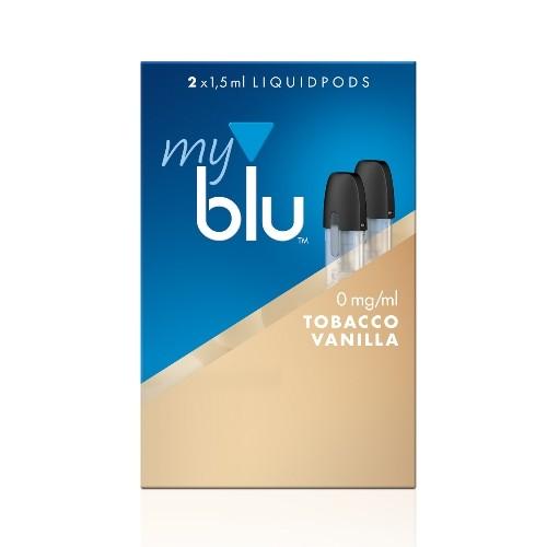 E-Liquidpod MY BLU Tobacco Vanilla 2 Stück