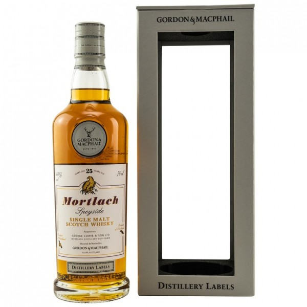 MORTLACH 25 Jahre G&M Distillery Label 46% Vol.