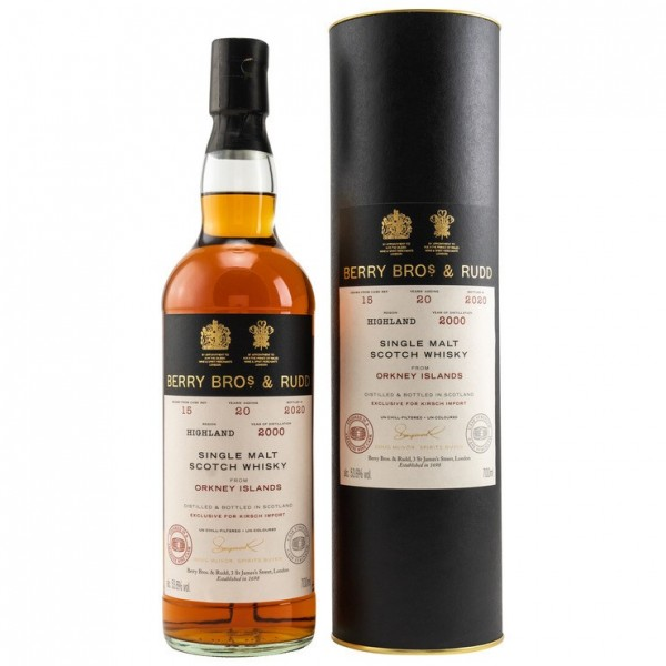 Orkney Islands 2000/2020 | 53.6% | 20 Jahre | Amarone Wine Finish