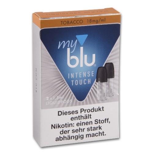 E-Liquidpod MY BLU Intense Touch Tobacco Roasted Blend 18 mg 2 Stück
