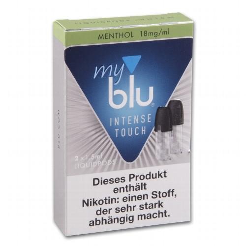 E-Liquidpod MY BLU Intense Menthol 18 mg 2 Stück