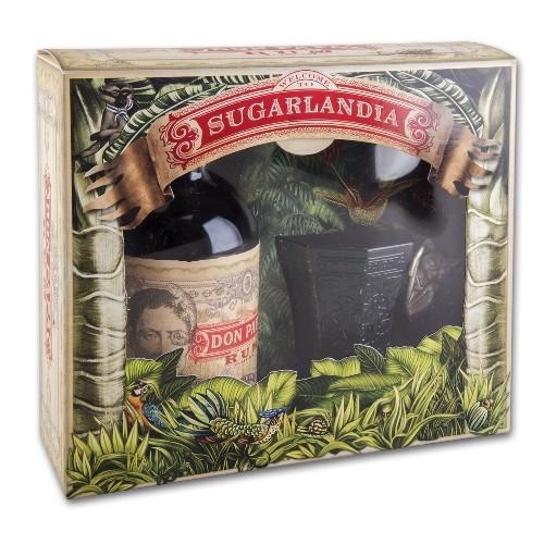 Rum DON PAPA 40% Vol. Geschenkpackung mit Glas