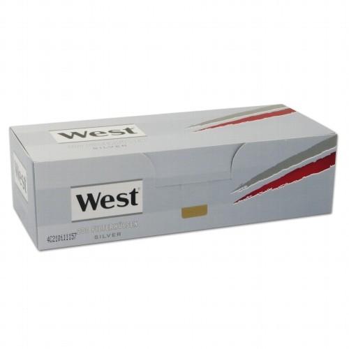 WEST Hülsen Silver 200 Stück Packung | 5er Pack