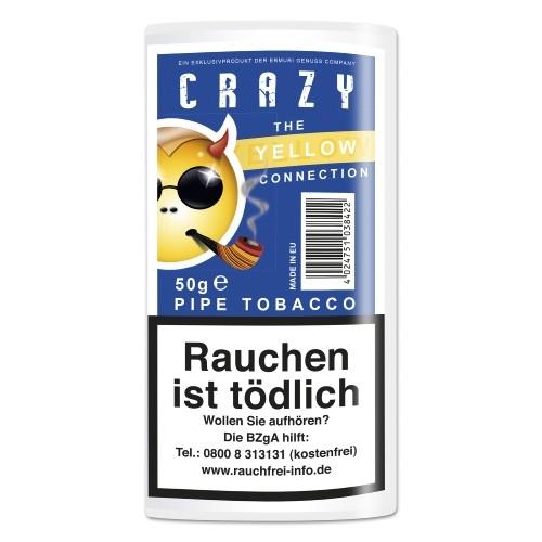 Crazy Yellow Pipe Tobacco (Vanilla)