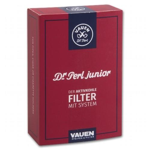 Pfeifenfilter VAUEN Dr Perl Aktivkohle Jubig 100 Stück