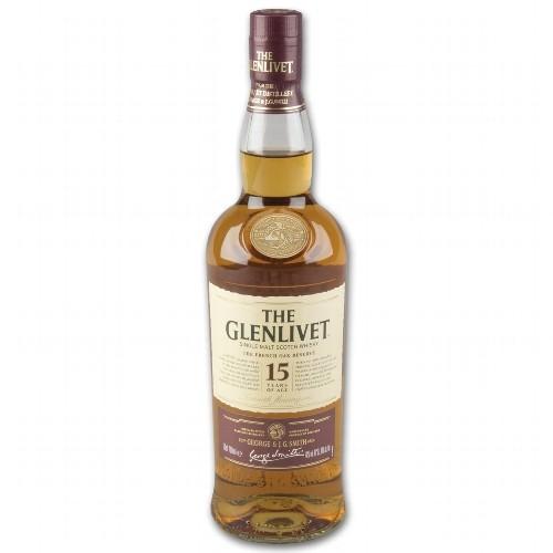 GLENLIVET 15 Jahre French Oak Reserve 40 % Vol.