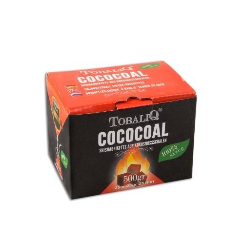 Wasserpfeifenkohle TOBALIQ Kokos 500 g