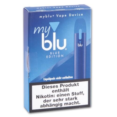 E- Akku MY BLU dry Kit mit Ladekabel Blue Edition