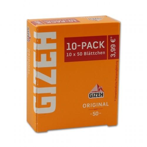GIZEH gelb 10er Pack