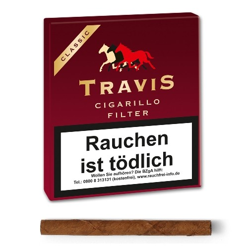 Travis Filter Cigarillo Filter (Aromatic)