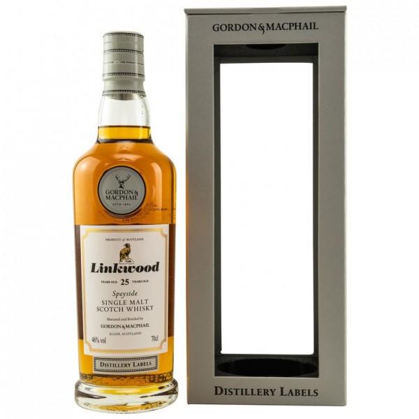 LINKWOOD 25 Jahre G&M Distillery Label 46% Vol.