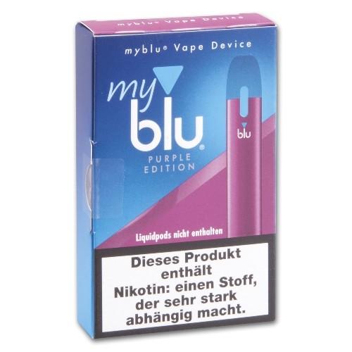 E- Akku MY BLU dry Kit mit Ladekabel Purple Edition