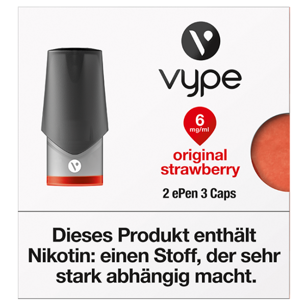 VYPE ePen3 Caps Original Strawberry | 2 Caps