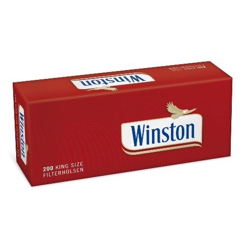 WINSTON Filterhülsen 200 Stück 5er Pack