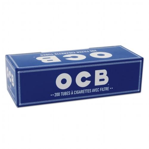 OCB Hanf Hülsen 200 Stück | 5er Pack
