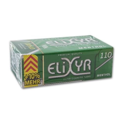 ELIXYR Menthol Filterhülsen 100er | 5er Pack