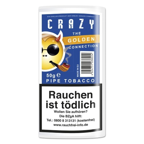 Crazy Golden Pipe Tobacco (Honey)