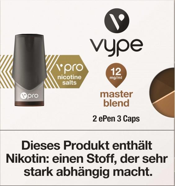 VYPE ePen3 Caps vPro Master Blend | 2 Caps