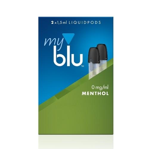 E-Liquidpod MY BLU Tabak Menthol 2 Stück