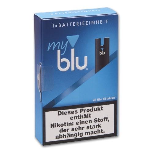 E- Akku MY BLU dry Kit mit Ladekabel