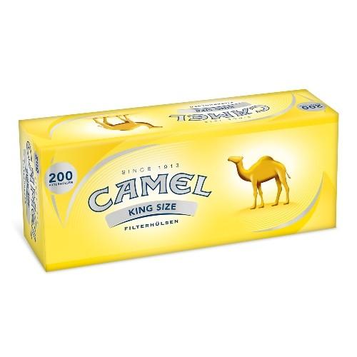 CAMEL Hülsen 200 Stück | 5er Pack