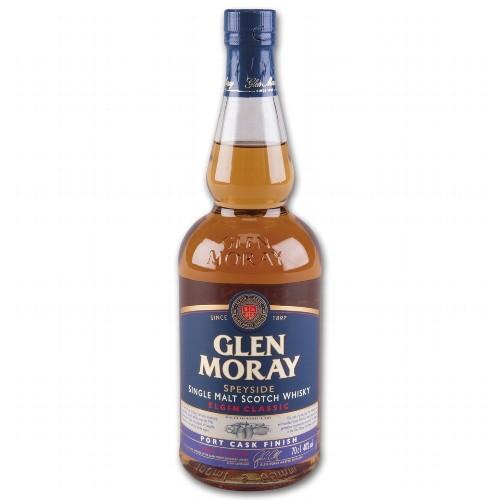 Glen Moray Port Cask finish 40 % Vol.