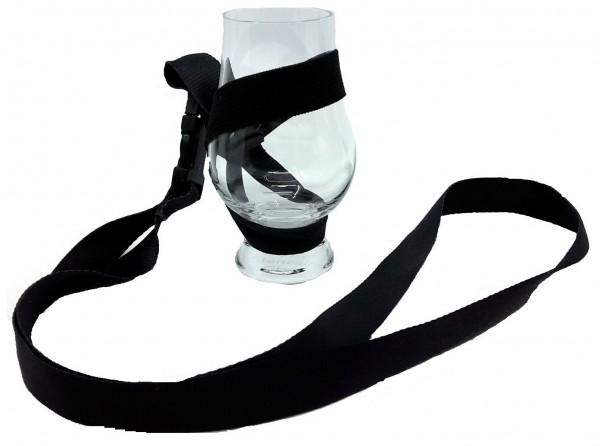 Whisky Umhängeband | Glashalter zum Umhängen