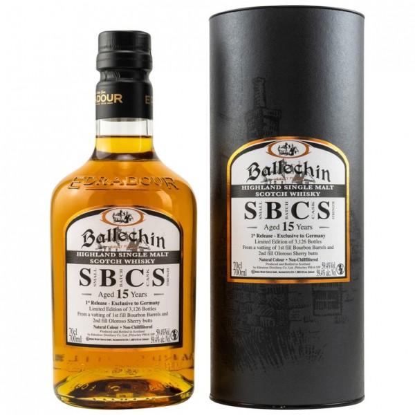 BALLECHIN 15 Jahre SBCS Batch #1 | 59.4 Vol.%
