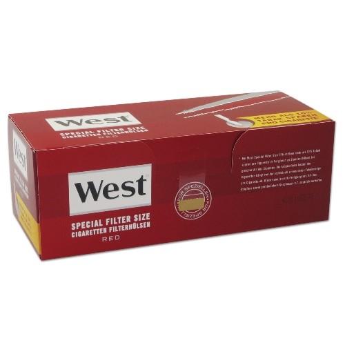 WEST Hülsen Special Red 250 Stück | 4er Pack