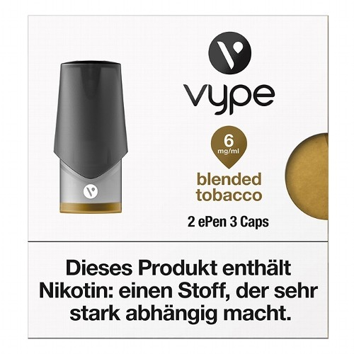 VYPE ePen3 Caps Blended Tobacco   2 Caps